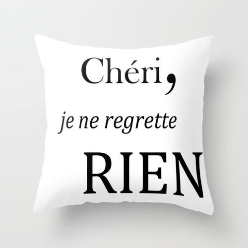 Petit Sourire Pillow Cheri